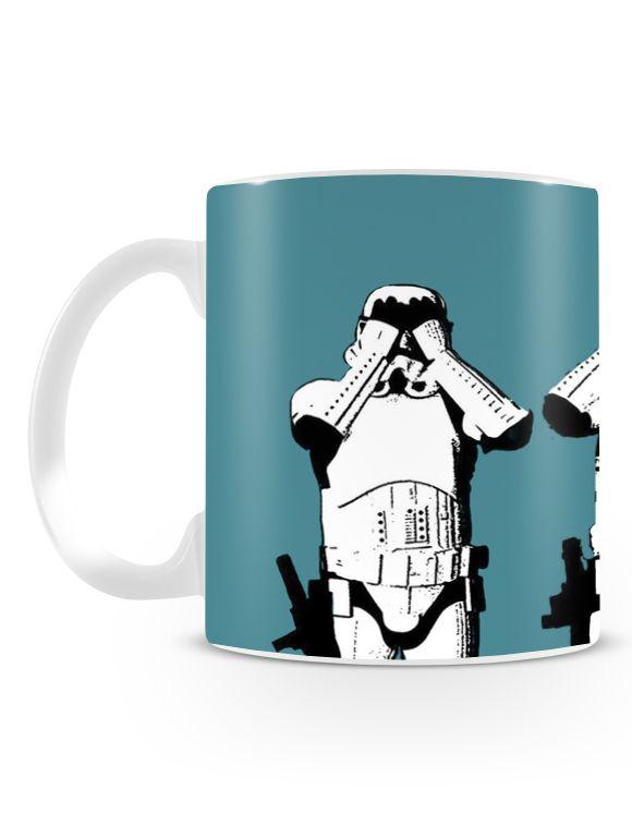 Caneca Stormtrooper | Uma loja de caneca #canecas #starwars