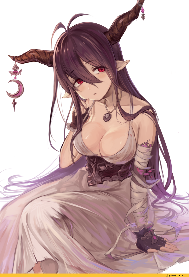 Sexy anime devil girl