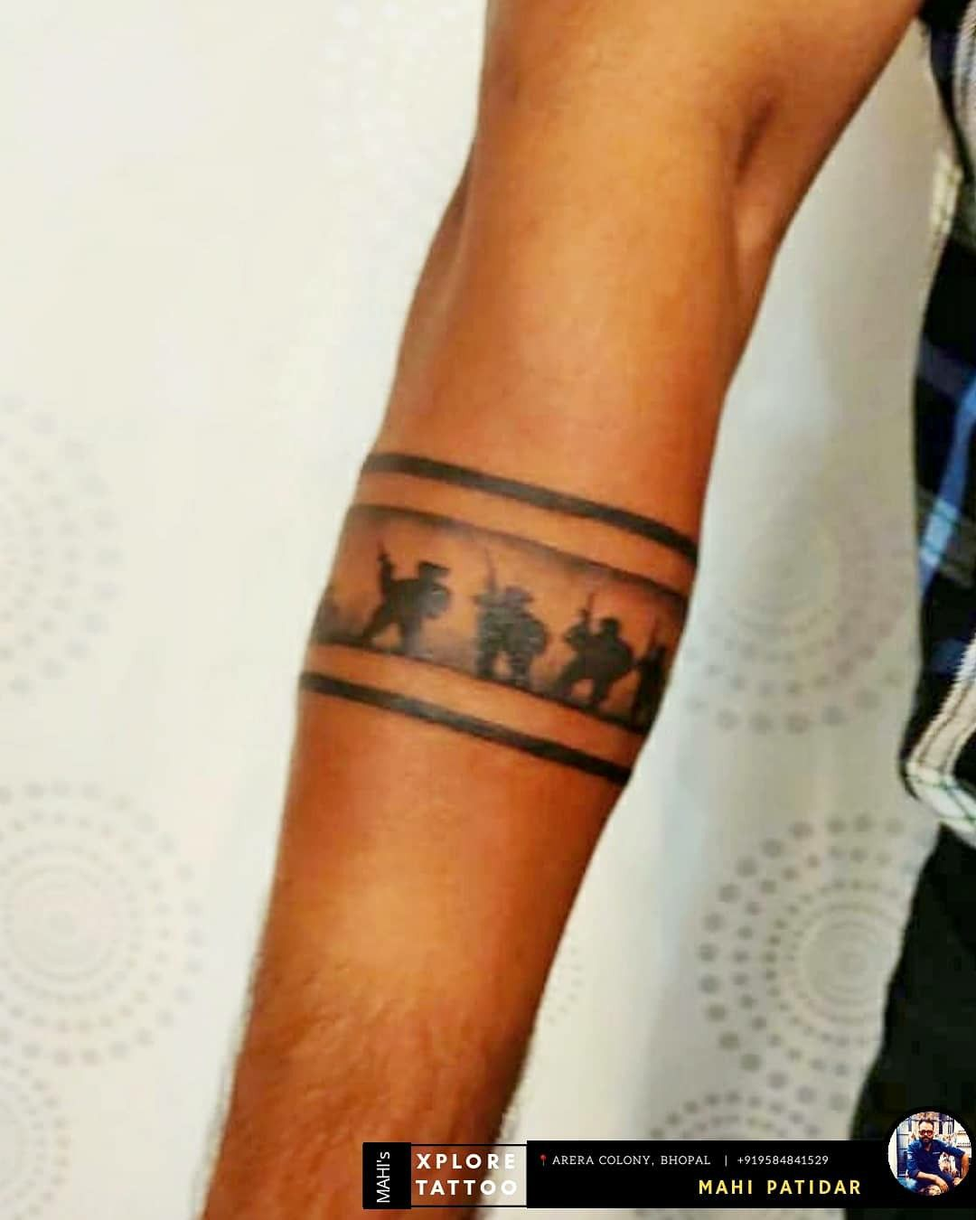 Indian Army Tattoo Designs For Girls   Best Tattoo Ideas