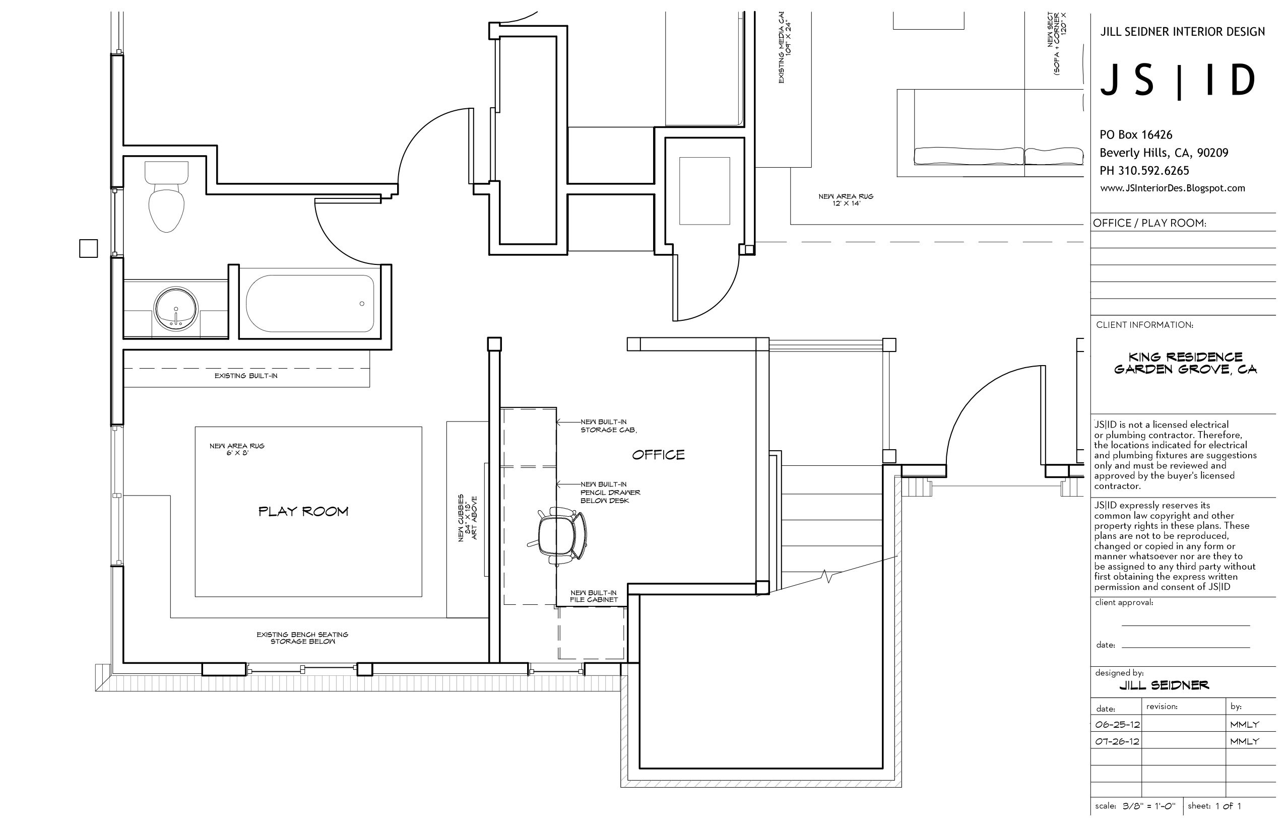 Pin on Jill Seidner Interior Design Drawings