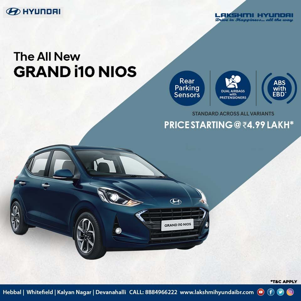 The All New Grandi10nios Is Here To Make You Feel Alive Lakshmi