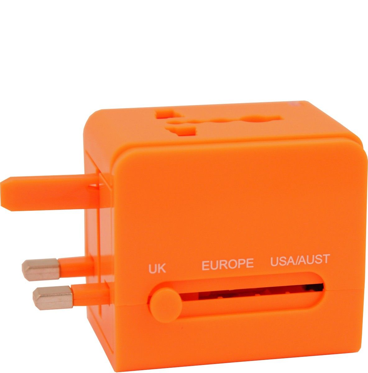 Flight 001 | Universal Adapter Orange - Adapters - All Products