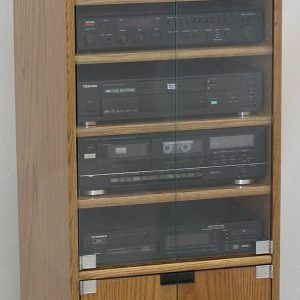 Oak stereo cabinets with glass doors httptriptonowhere oak stereo cabinets with glass doors publicscrutiny Image collections