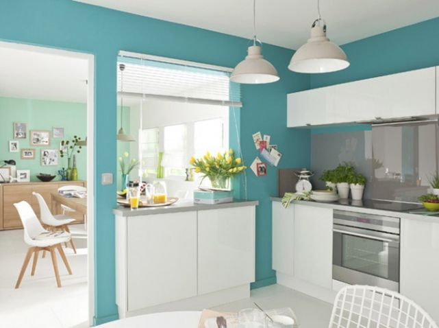 Le turquoise, le bleu qu\'on adore - Elle Décoration | Pinterest | House