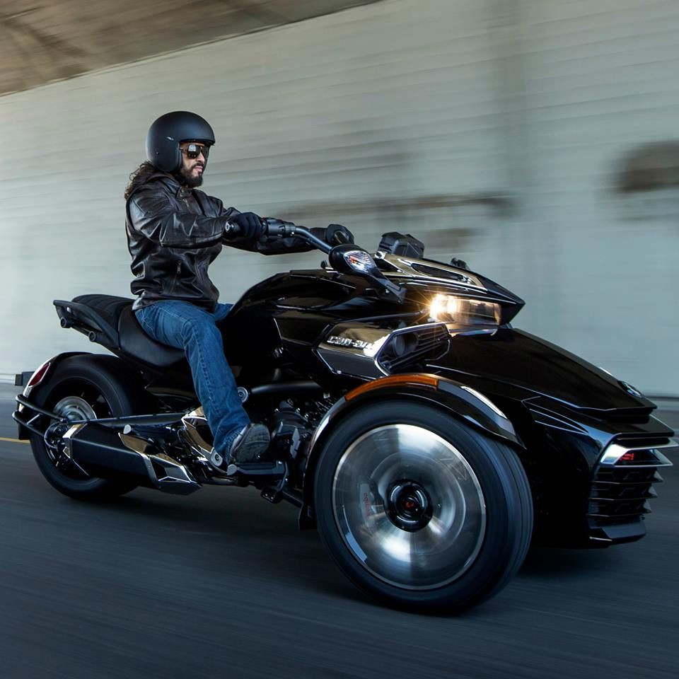 New 2015 Can Am Spyder F3