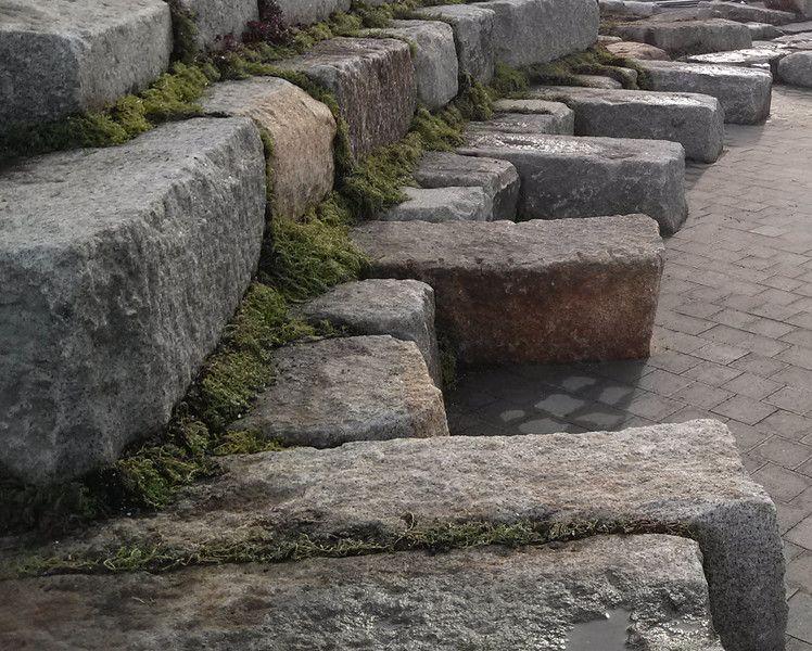Reclaimed Granite Blocks Stone Retaining Wall Blocks Benches Granite Blocks Stone Farms Stone Blocks