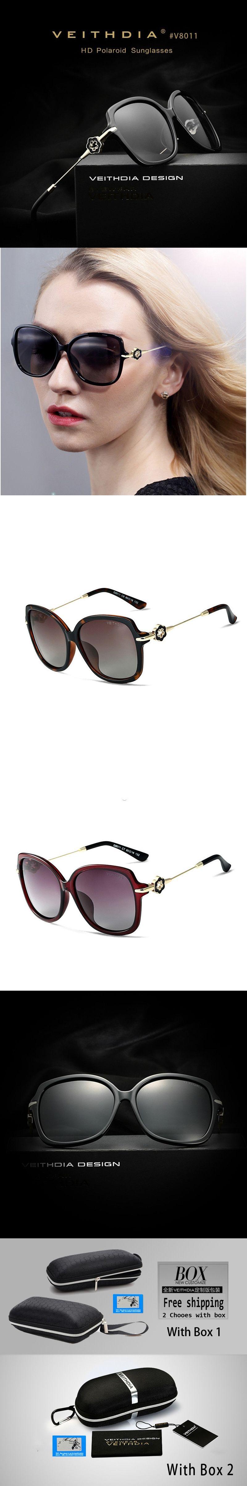 ba73d28d41 VEITHDIA TR90 Women s Driving Sun glasses Polarized Mirror Lens Luxury Ladies  Designer Sunglasses Eyewear For Women
