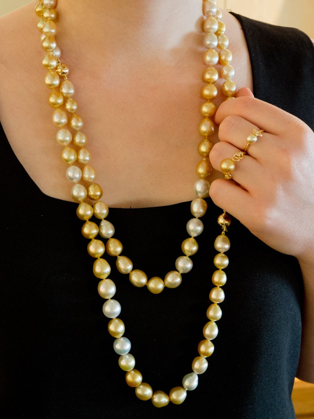 Introducing Our Beautiful Jewelmer Golden South Sea Pearl