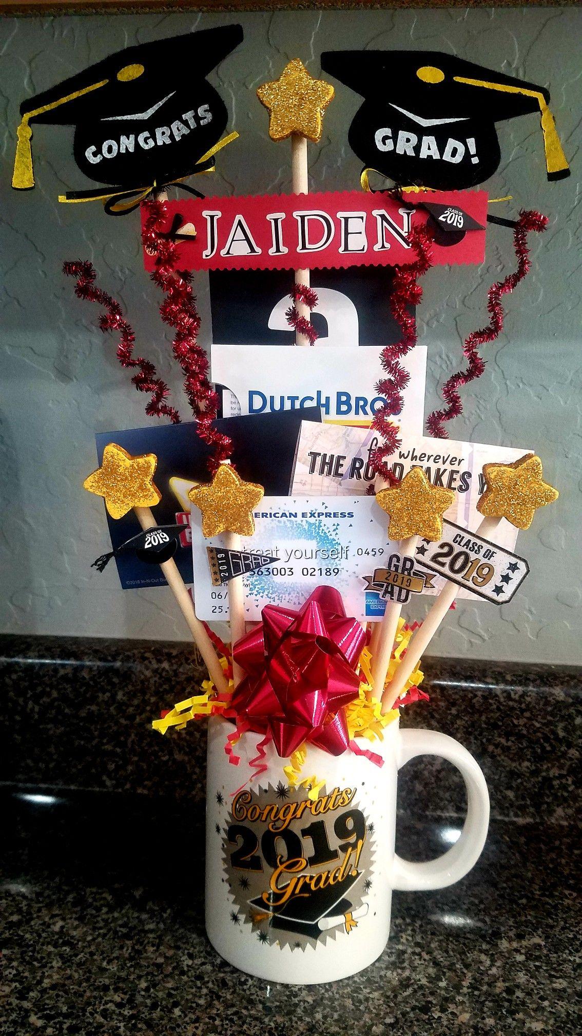 Graduation gift card bouquet gift card bouquet