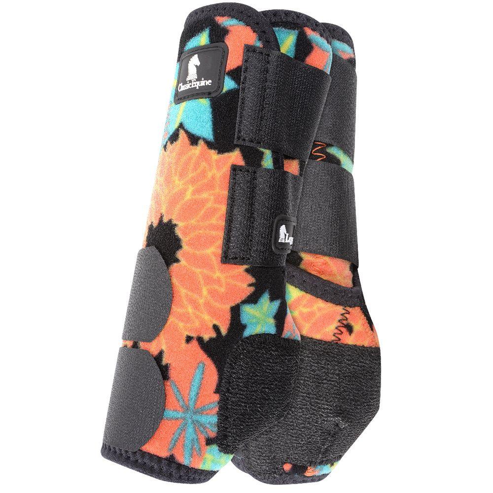 Legacy Coral Tropics Front Splint Boots Classic equine