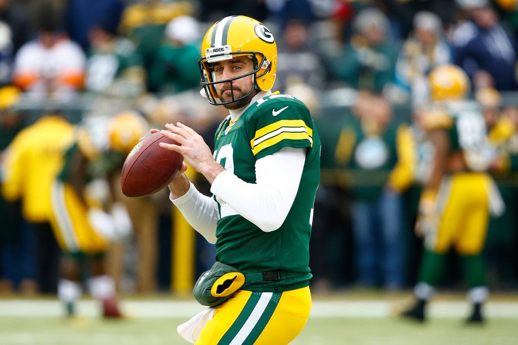 Aaron Rodgers Photos Divisional Playoffs