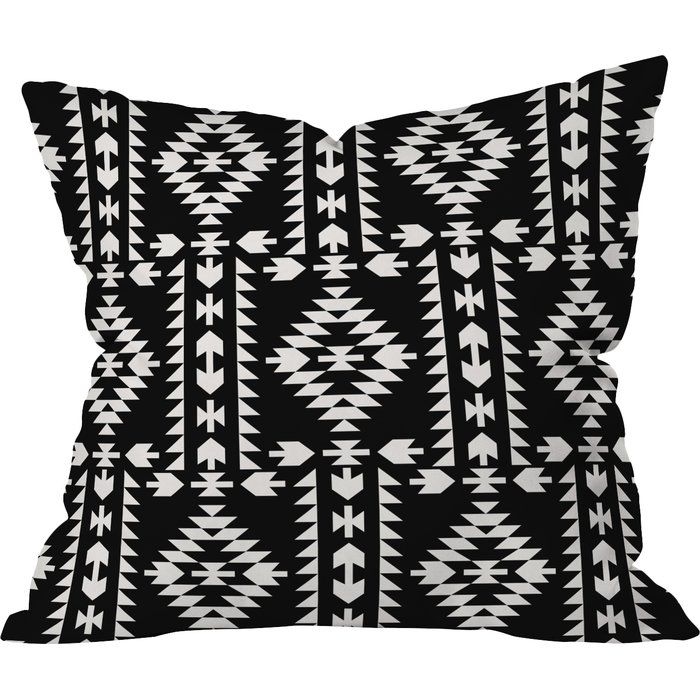 """Want to transform your outdoor space into a fun, inviting lounge? Looking to complete that patio full of solids with a unique print? Accomplish all of the above with one simple, yet powerful outdoor accessory, we like to call it the """"East Urban Home"""" outdoor throw pillow!"""