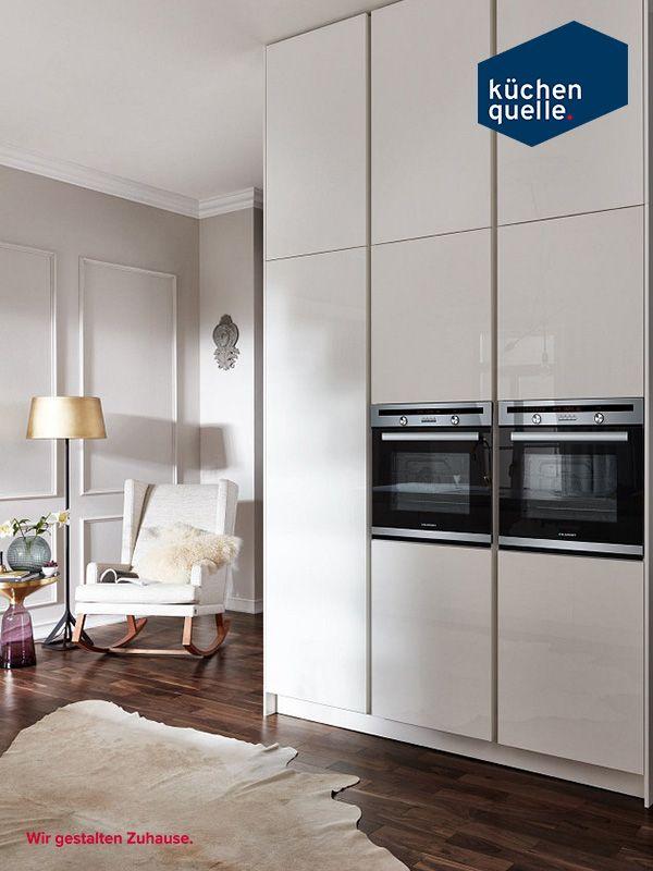 Die Systema 2030 in Weiß-Hochglanz sieht nicht nur atemberaubend aus - Küchen Weiß Hochglanz