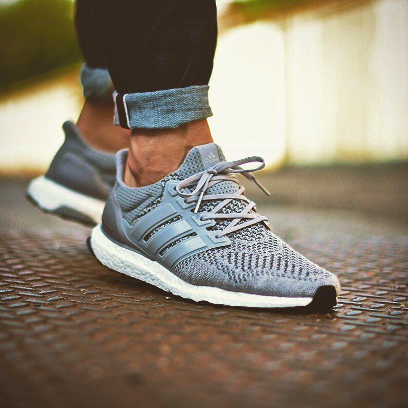buy popular a7c57 34133 Adidas Ultra Boost 'Wool Grey' (by deadstocksnkrblog) | Mens ...
