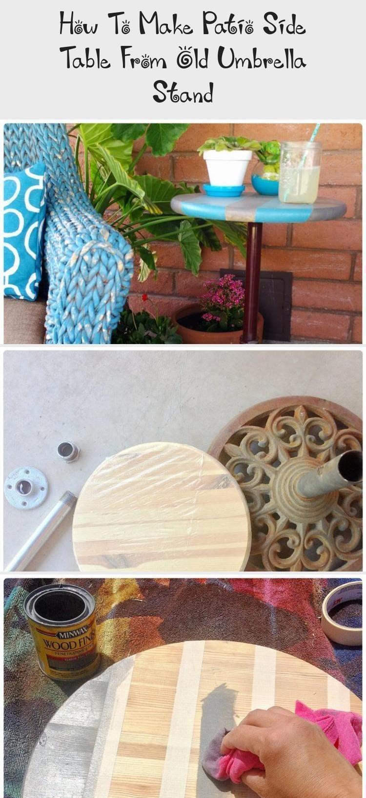Outdoor Umbrella Stand Ideas ; Outdoor Umbrella Stand