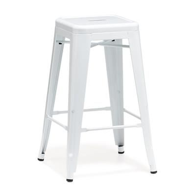 Image For Metal Bar Stool White From Kmart 29 Each Refresh The