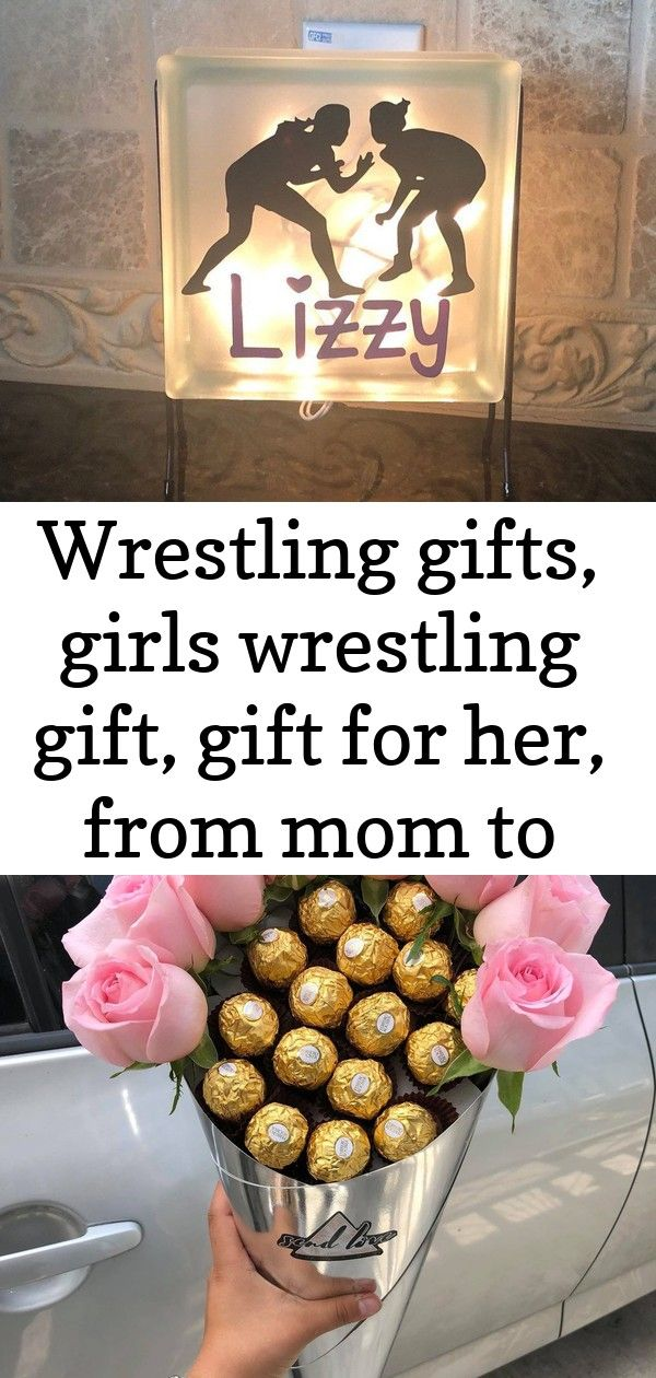 Wrestling gifts, girls wrestling gift, gift for her, from mom to daughter, wrestling gift ideas, gir