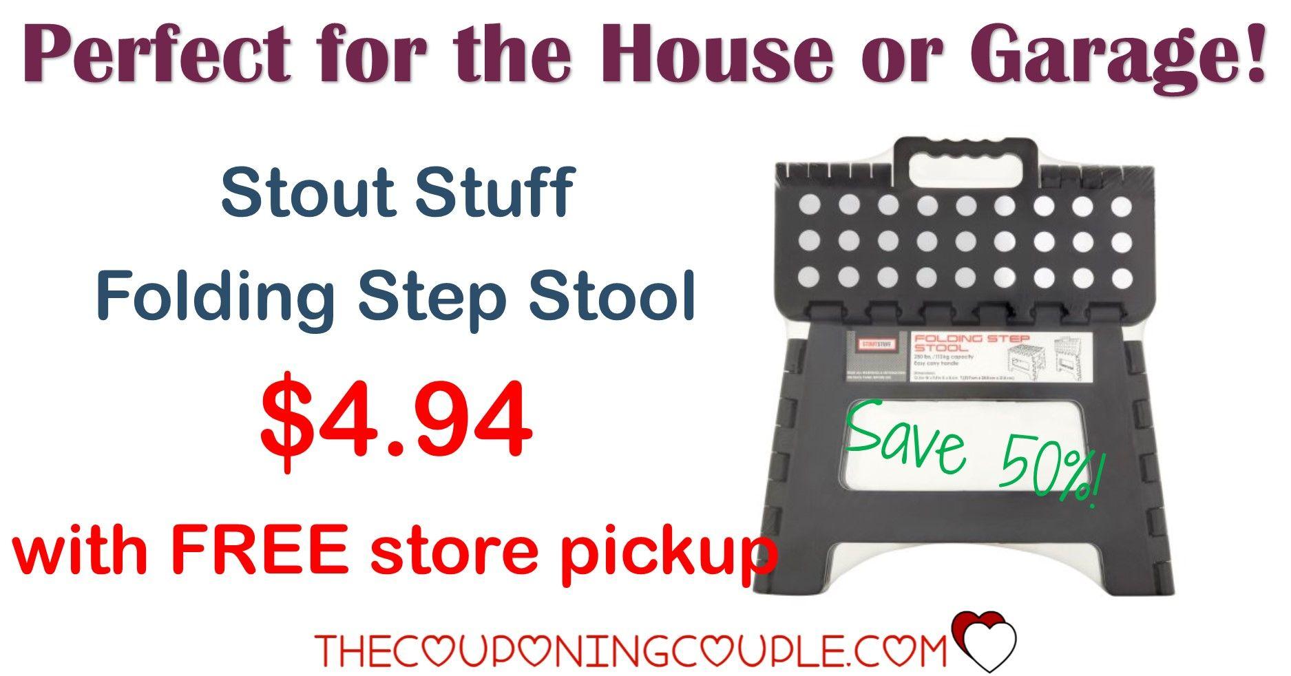 Save 50 On Stout Stuff Folding Step Stool Only 4 94