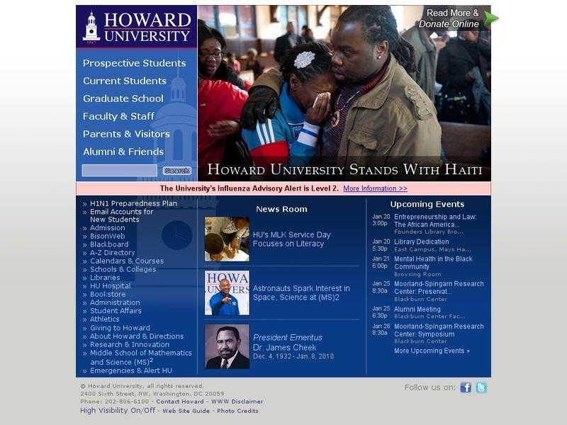 Howard University Howard university, University