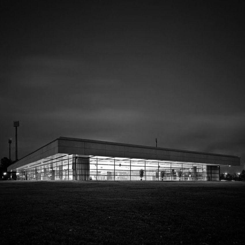 arne jacobsen landskrona sports hall landskrona pinterest arne jacobsen architecture. Black Bedroom Furniture Sets. Home Design Ideas