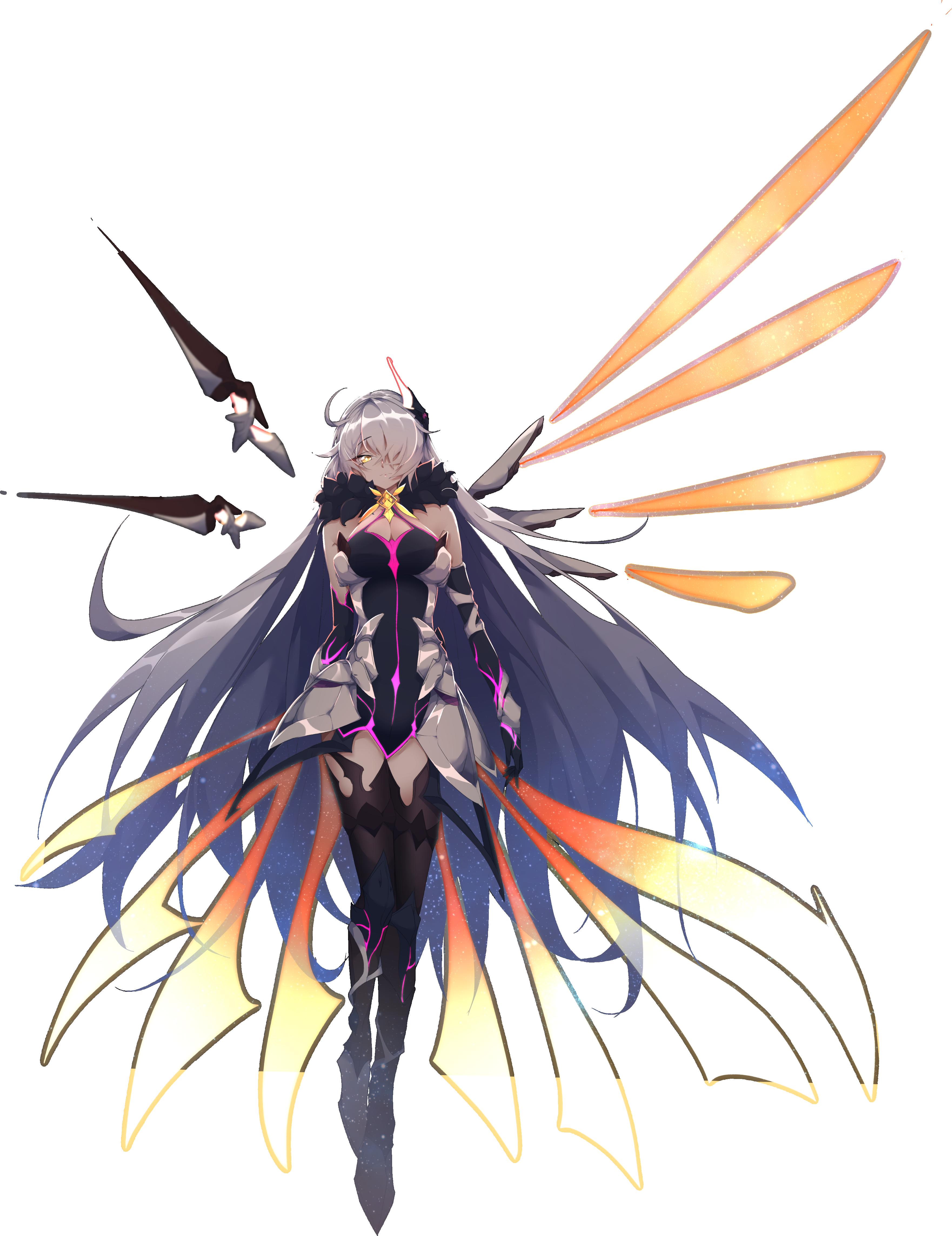 At Least She Has Armor Anime Warrior Girl Character Art Anime Artwork