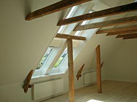Synlig trækonstruktion - Træhåndværkeren Svendborg
