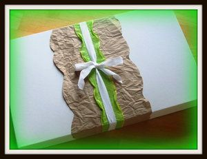 gift wrapping in a minute [or less]
