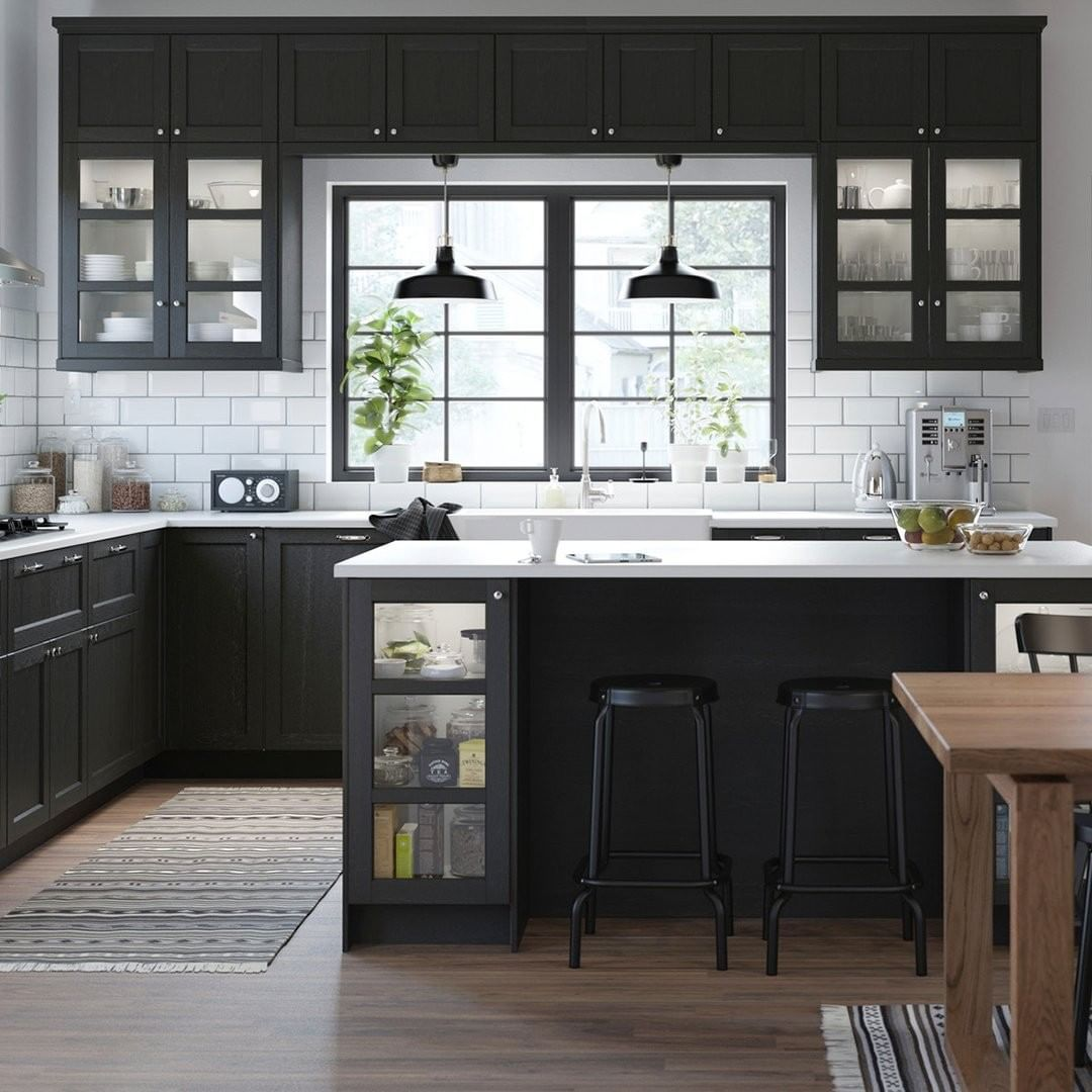 Your Cabinets Set The Tone For The Whole Kitchen Find Ones That Match Your Style And Budget In The Ikea Kitchenpedia Link In Bio Ikea Kitchen Kitchen Ikea
