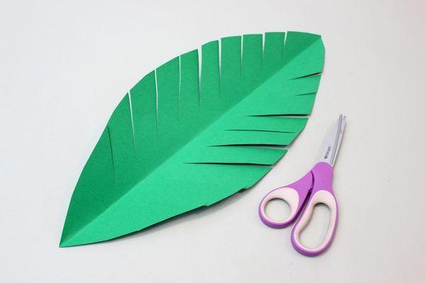 How to Make a Paper Palm Tree | Palm tree crafts, Paper palm tree ...