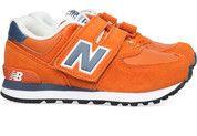 Oranje New Balance kinderschoenen 574 sneakers