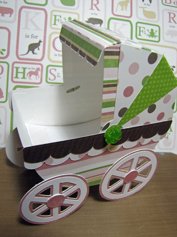 Baby carriage for shower  Cut files from SVG Cuts Bundle of