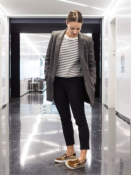 483d244574f How to Wear Sneakers to Work - Sophia Panych