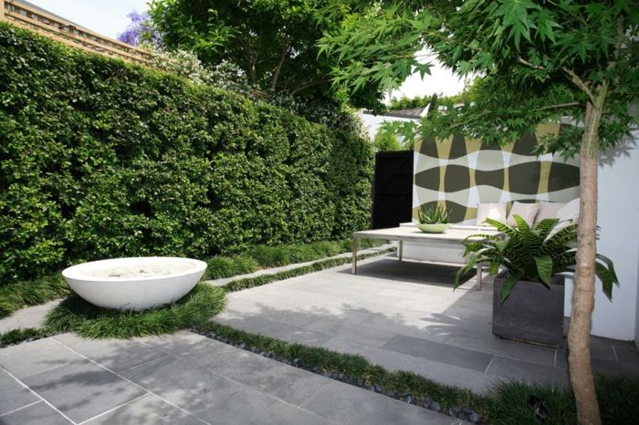 Garten Gestalten Ideen Gartenideen City Style Minimalistisch Backyard  Designs, Modern Backyard Design, Backyard Garden