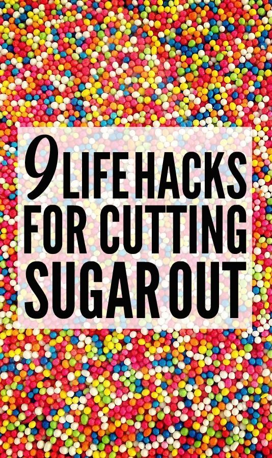 9 Ways to Cut Out Sugar from Your Diet (And Lose Weight Quick!) #healthyliving