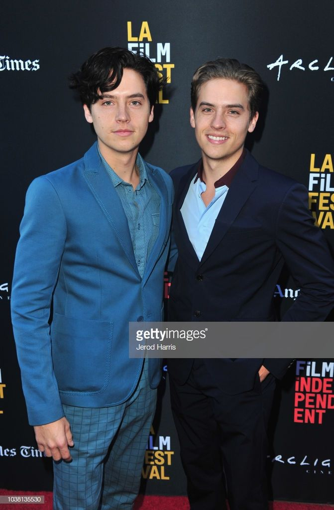 Cole Sprouse and Dylan Sprouse attend the screening of Banana Split...