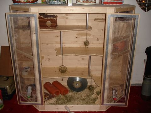 Great Design Chinchilla Cage Chinchilla Pet Enclosure