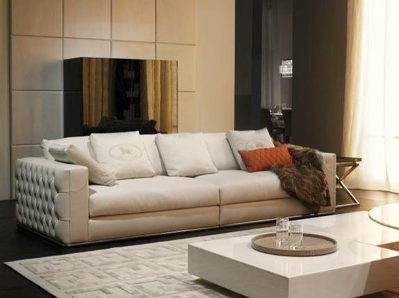 Fendi Casa Sofa Leather Sofa Living Room Sofa Home Fendi Casa
