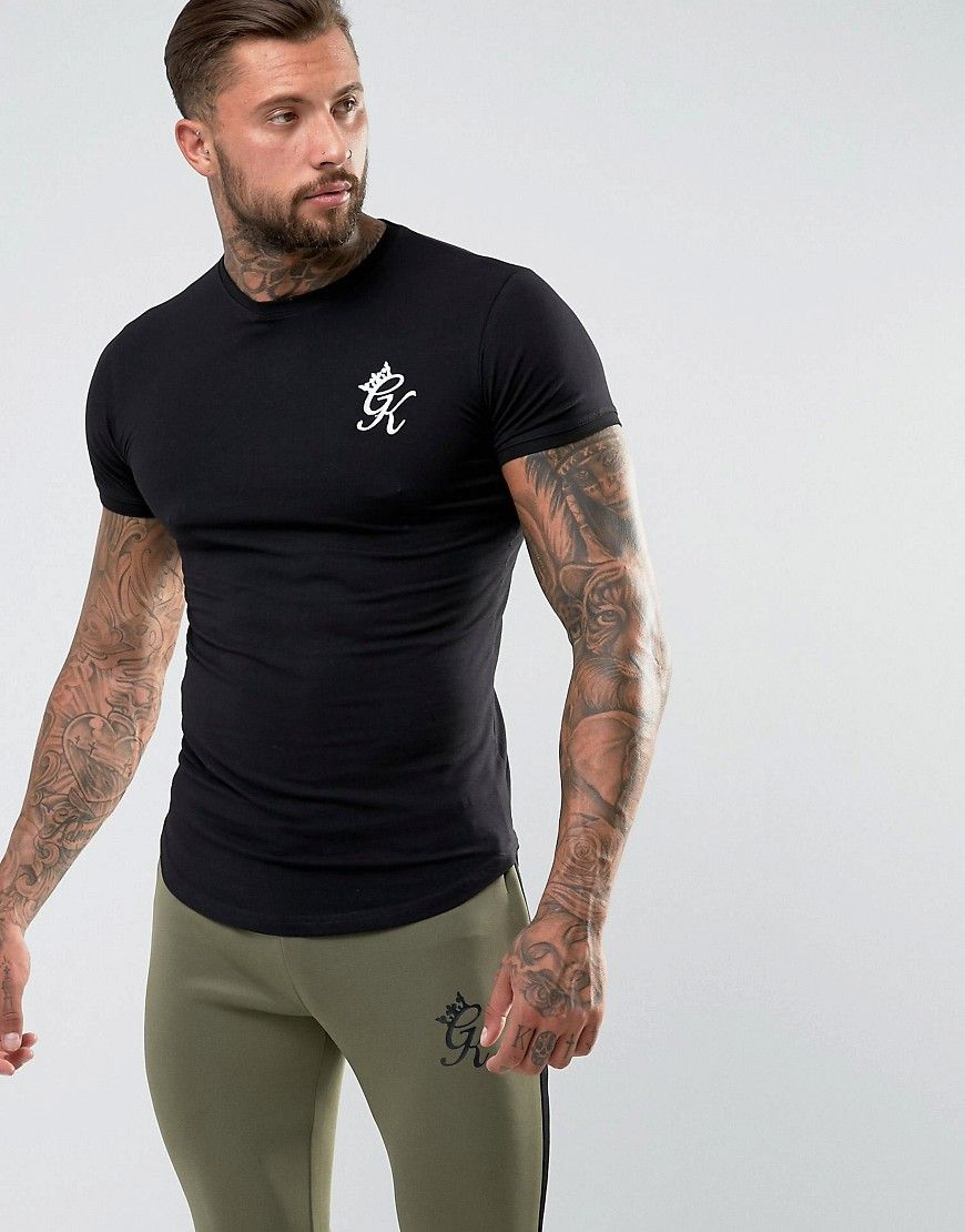 a2945233 Gym King logo t-shirt in muscle fit | Men tattoos | Shirts, T shirt ...