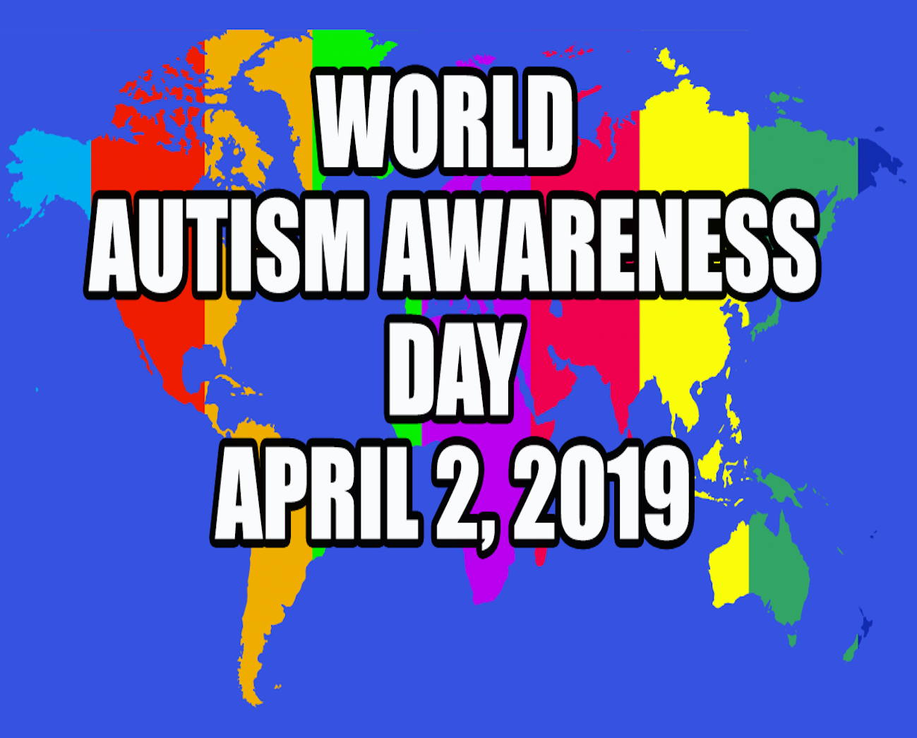 TIME FOR ACCEPTANCE EVERYDAY World Autism Awareness