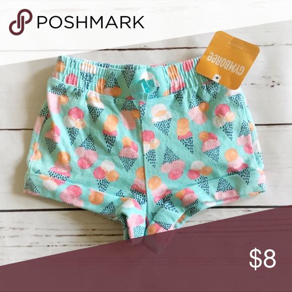 Gymboree Shorts Ice Cream Print