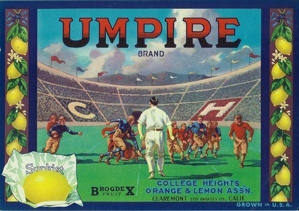 *Original* ATHLETE Claremont Track Sports FINISH LINE Lemon Label NOT A COPY!