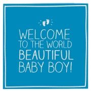 Cleanly happy baby boy greeting card design idea blue white color cleanly happy baby boy greeting card design idea m4hsunfo Gallery