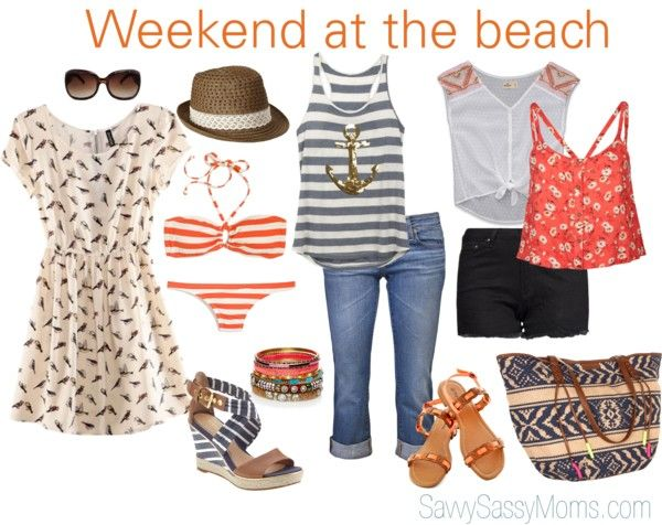"""""""Weekend at the Beach"""" by andreafellman on Polyvore"""
