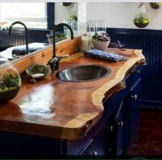 Lavamanos r stico fotos pinterest lavamanos r stico for Lavamanos rusticos de madera