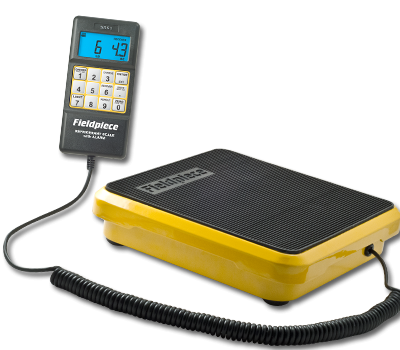 Fieldpiece SRS1 Refrigerant Scale with Charge Alarm in