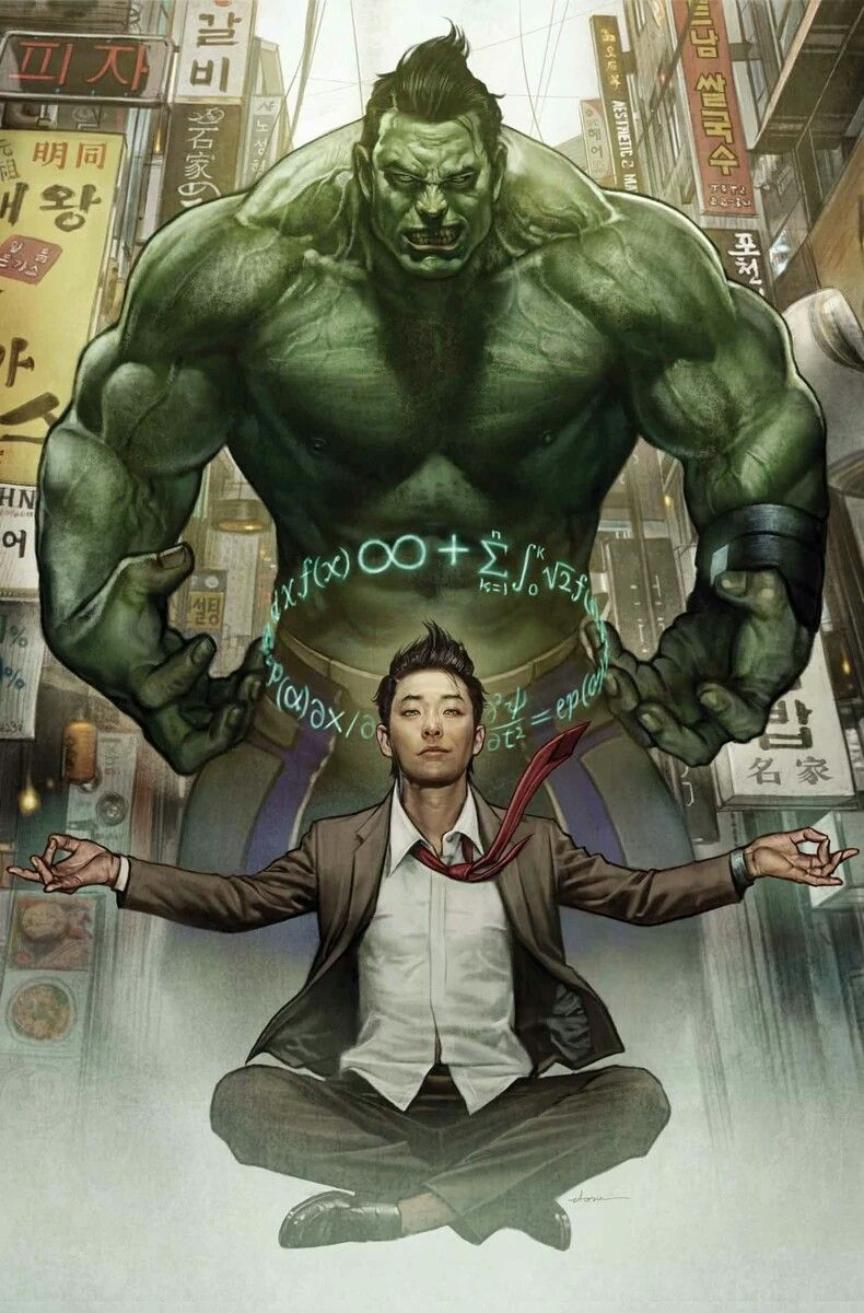 Amadeus Cho | art by Stonehouse | Hulk marvel, Marvel comics, Marvel superheroes