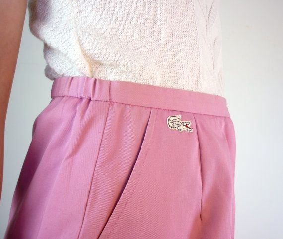 vintage lacoste golf skirt | things i would LOVE. | Pinterest ...