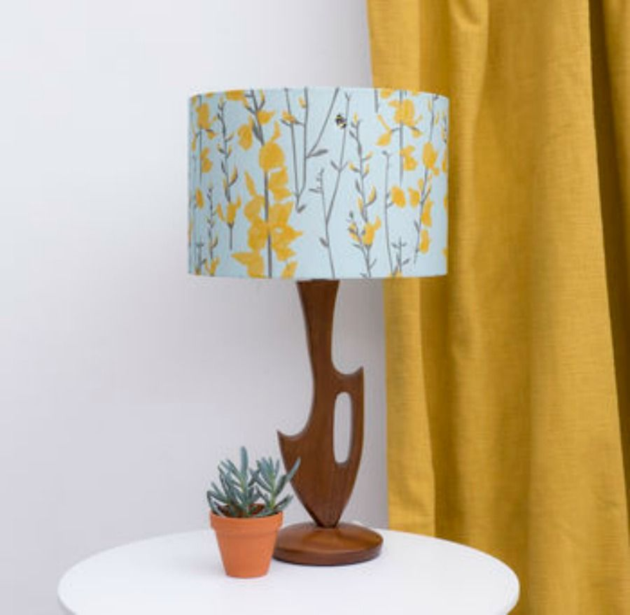 Lorna Syson Broom And Bee Lampshade #ad #bee #homedecor