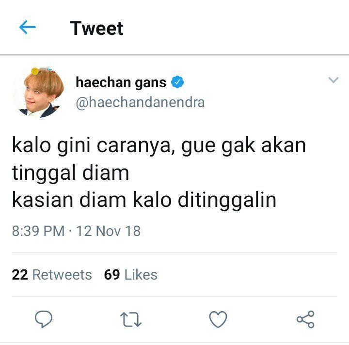 Fullsun Haechan 3 Di 2020 Kutipan Teman Humor Twitter