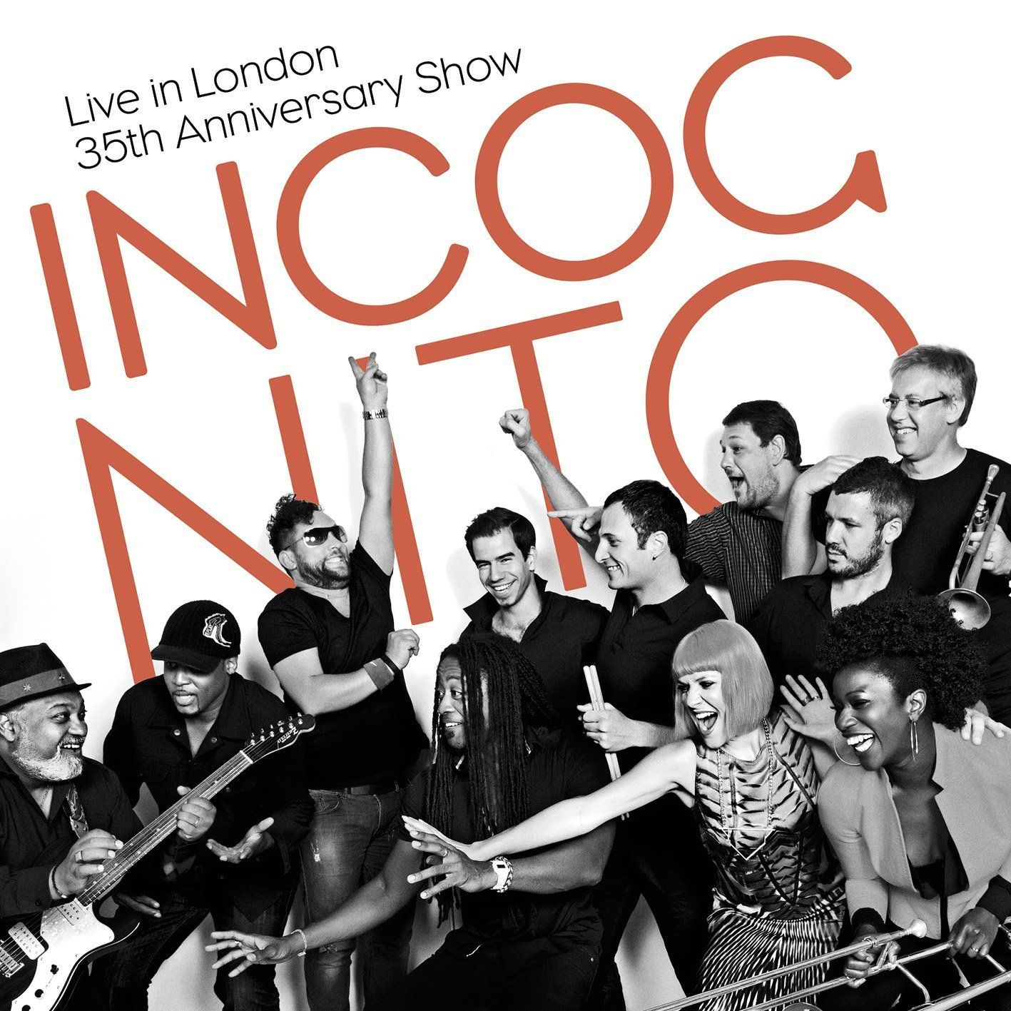 Incognito Live In London The 35th Anniversary Concert Dvd London Live Incognito Dvd Smooth Jazz Jazz Buena Musica